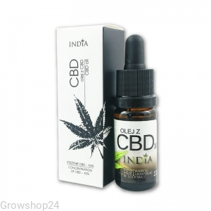 OLEJ KONOPNY Z CBD 20%, 10ml - INDIA