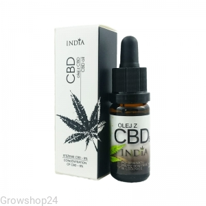 OLEJ KONOPNY Z CBD 5%, 10ml - INDIA
