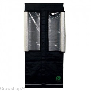 Homebox Growlab Silver 80x80 h180cm