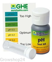 GHE pH test - kropelki do pomiaru pH